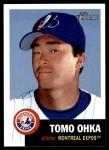 2002 Topps Heritage #233  Tomo Ohka  Front Thumbnail