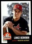 2002 Topps Heritage #250  Lance Berkman  Front Thumbnail