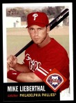 2002 Topps Heritage #288  Mike Lieberthal  Front Thumbnail