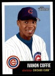 2002 Topps Heritage #309  Ivanon Coffie  Front Thumbnail