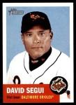2002 Topps Heritage #254  David Segui  Front Thumbnail
