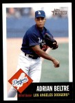 2002 Topps Heritage #345  Adrian Beltre  Front Thumbnail