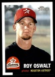 2002 Topps Heritage #316  Roy Oswalt  Front Thumbnail