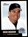 2002 Topps Heritage #344  Brian Bohanon  Front Thumbnail