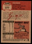2002 Topps Heritage #277  Ryan Minor  Back Thumbnail
