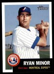 2002 Topps Heritage #277  Ryan Minor  Front Thumbnail