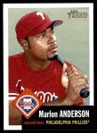 2002 Topps Heritage #327  Marlon Anderson  Front Thumbnail