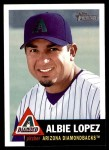 2002 Topps Heritage #328  Albie Lopez  Front Thumbnail