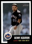 2002 Topps Heritage #215  Benny Agbayani  Front Thumbnail