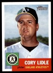 2002 Topps Heritage #335  Cory Lidle  Front Thumbnail