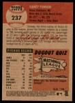 2002 Topps Heritage #237  Sidney Ponson  Back Thumbnail