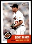 2002 Topps Heritage #237  Sidney Ponson  Front Thumbnail