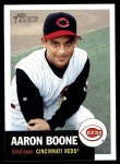 2002 Topps Heritage #337  Aaron Boone  Front Thumbnail