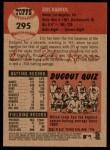 2002 Topps Heritage #295  Eric Karros  Back Thumbnail