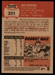 2002 Topps Heritage #321  Mike Redmond  Back Thumbnail