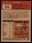 2002 Topps Heritage #278  Jeff D'Amico  Back Thumbnail