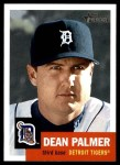 2002 Topps Heritage #206  Dean Palmer  Front Thumbnail