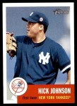 2002 Topps Heritage #207  Nick Johnson  Front Thumbnail