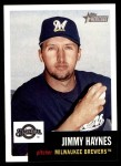 2002 Topps Heritage #202  Jimmy Haynes  Front Thumbnail