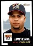 2002 Topps Heritage #249  Aramis Ramirez  Front Thumbnail