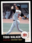 2002 Topps Heritage #311  Todd Walker  Front Thumbnail