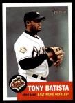2002 Topps Heritage #284  Tony Batista  Front Thumbnail