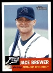 2002 Topps Heritage #320  Jace Brewer  Front Thumbnail