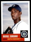 2002 Topps Heritage #349  Rafael Soriano  Front Thumbnail