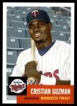 2002 Topps Heritage #290  Cristian Guzman  Front Thumbnail