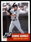 2002 Topps Heritage #329  Chris Gomez  Front Thumbnail