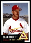 2002 Topps Heritage #286  Craig Paquette  Front Thumbnail
