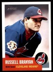 2002 Topps Heritage #303  Russell Branyan  Front Thumbnail
