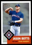 2002 Topps Heritage #307  Jason Botts  Front Thumbnail