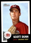 2002 Topps Heritage #263  Scott Dunn  Front Thumbnail