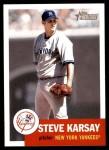 2002 Topps Heritage #243  Steve Karsay  Front Thumbnail