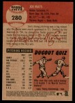 2002 Topps Heritage #280  Joe Mays  Back Thumbnail