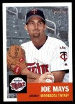 2002 Topps Heritage #280  Joe Mays  Front Thumbnail