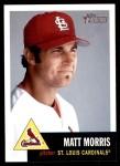 2002 Topps Heritage #357  Matt Morris  Front Thumbnail