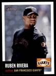 2002 Topps Heritage #348  Ruben Rivera  Front Thumbnail