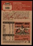 2002 Topps Heritage #348  Ruben Rivera  Back Thumbnail