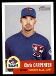 2002 Topps Heritage #276  Chris Carpenter  Front Thumbnail