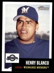 2002 Topps Heritage #361  Henry Blanco  Front Thumbnail