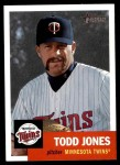 2002 Topps Heritage #315  Todd Jones  Front Thumbnail