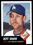 2002 Topps Heritage #229  Jeff Shaw  Front Thumbnail