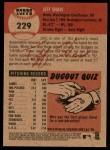 2002 Topps Heritage #229  Jeff Shaw  Back Thumbnail