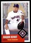 2002 Topps Heritage #292  Joaquin Benoit  Front Thumbnail