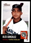 2002 Topps Heritage #262  Alex Gonzalez  Front Thumbnail