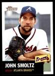 2002 Topps Heritage #299  John Smoltz  Front Thumbnail