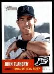 2002 Topps Heritage #217  John Flaherty  Front Thumbnail