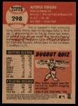 2002 Topps Heritage #298  Alfonso Soriano  Back Thumbnail
